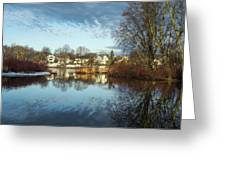 Carleton Place On The Mississippi - 18 Greeting Card