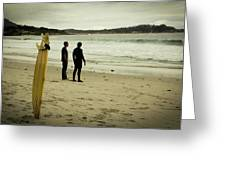 Carmel Beach, Ca Greeting Card