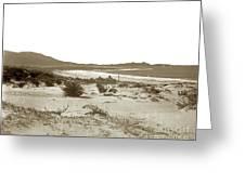 Carmel Beach, Carmel Point And Point Lobos Circa 1925 Greeting Card