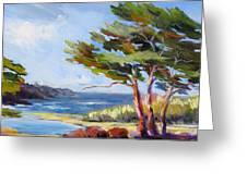 Carmel By The Sea Greeting Card