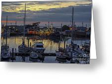 Carmel Coast Marina Greeting Card