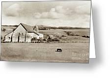 Carmel Mission Circa 1920 Greeting Card