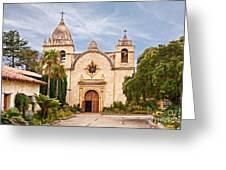 Carmel Mission San Carlos Borromeo Greeting Card