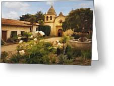 Carmel Mission Greeting Card