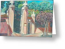 Carmelite Monastery Greeting Card