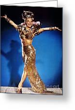 Carmen Miranda Greeting Card