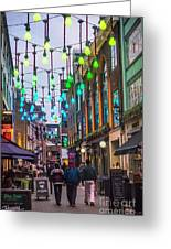 Carnaby Street London Greeting Card
