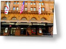 Carnegie Hall Greeting Card