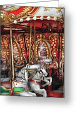 Carnival - The Carousel Greeting Card