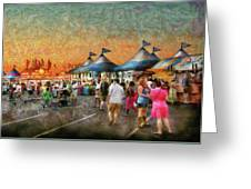 Carnival - Who Wants Gyros Greeting Card