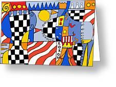 Carnival 1 Greeting Card