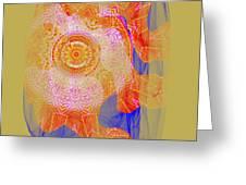 Carnival Abstract 1 Greeting Card