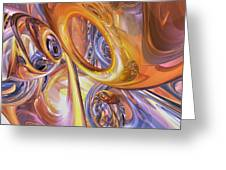 Carnival Abstract Greeting Card