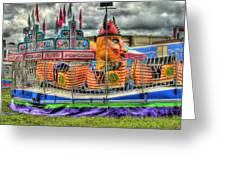 Carnival At Crocker Park Greeting Card