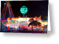 Carnival Excitement Greeting Card by James BO  Insogna