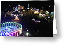 Carnival From The Sky Greeting Card