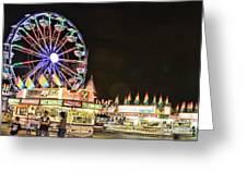 carnival Fun and Food Greeting Card