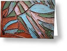 Carnival Headdress Tile Greeting Card