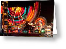 Carnival In Motion Greeting Card