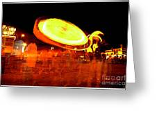 Carnival Ride Greeting Card