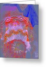 Carnival Abstract 3 Greeting Card