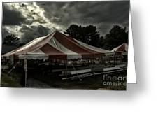 Carnival Tents Greeting Card