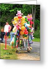 Carnival Vendor 3 Greeting Card