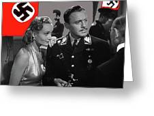 Carole Lombard Jack Benny To Be Or Not To Be 1942-2015 Greeting Card