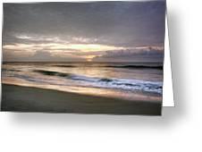 Carolina Beach Morning Greeting Card