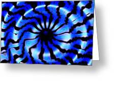 Carolina Blues Greeting Card