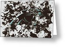 Carolina Panthers 1b Greeting Card