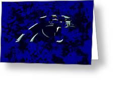 Carolina Panthers 1e Greeting Card