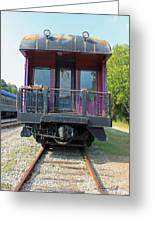 Carolina Southern Dining Car Greeting Card