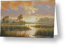 Carolina Sunrise Greeting Card