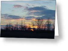 Carolina Sunset Greeting Card