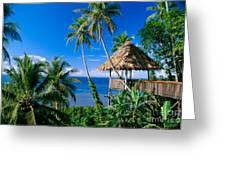 Caroline Islands, Pohnpei Greeting Card
