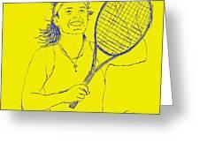 Caroline Wozniacki Greeting Card