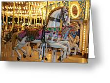 Carosel Horse Greeting Card