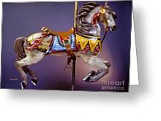 Carousel Dreams IIi Greeting Card