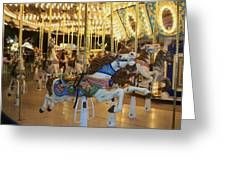 Carousel Horse 3 Greeting Card