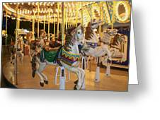 Carousel Horse 4 Greeting Card