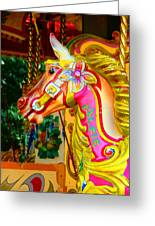 Carousel Horse London Alfie England Greeting Card