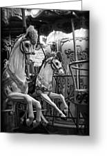 Carousel Horses No. 1 Greeting Card