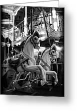 Carousel Horses No.2 Greeting Card