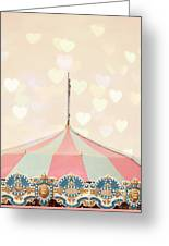 Carousel Tent Greeting Card