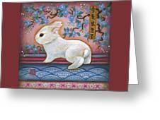 Carpe Diem Rabbit Greeting Card