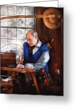 Carpenter - The Woodturner Greeting Card