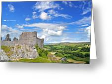 Carreg Cennen Castle 1 Greeting Card