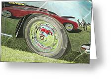 Carrera Chrome Greeting Card