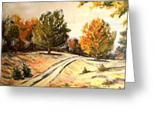 Carriage Path Greeting Card